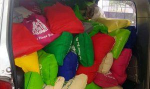Panitia Fun Trabas Bima Terima Paket Sembako Dari Jawa