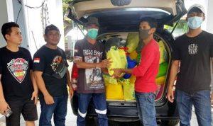 Panitia Fun Trabas Bima Salurkan Sembako untuk Warga Ambalawi