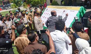 Polres Bima Kota Canangkan Zona Integritas Birokrasi Bebas Korupsi