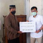 Dukung Kegiatan Keagamaan, Pupuk Kaltim Bantu Pembangunan Masjid Babussalam Kota Bima
