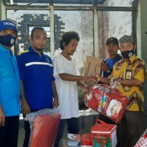 Dinsos Salurkan Bantuan Tanggap Darurat Korban Kebakaran Penatoi