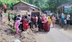 Syahbuddin Reses di Lokasi Gotong Royong