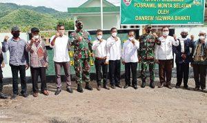 Danrem 162/WB Brigjen TNI Rizal Ramdani Tinjau Lokasi TMMD di Bima