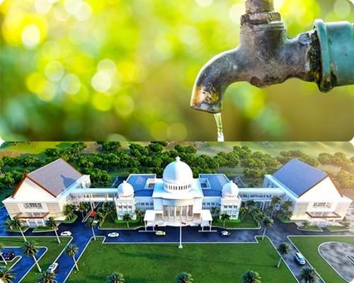 Sayap Kantor Walikota dan Air Bersih Sama-Sama Prioritas
