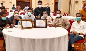 KPU Kabupaten Bima Raih Peringkat I Kategori Penghargaan Utama dan Bergengsi