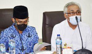 Bahas Bentuk PDAM Regional Bima, Pemerintah Kota dan Kabupaten Bima Gelar Rakor