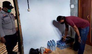 Polsek Rastim Sita Puluhan Miras di Kecamatan Raba