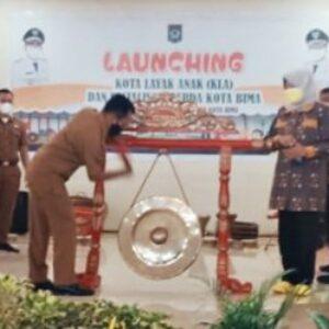 Walikota Bima Launching Kota Layak Anak