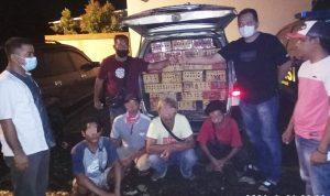 Bawa 535 Ekor Burung Punglor Tanpa Izin, 6 Terduga Pelaku Diamankan