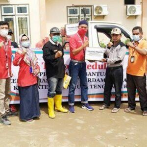 Telkom Peduli, Distribusi Bantuan Banjir di Kabupaten Bima