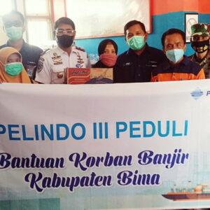 PT Pelindo III Bantu Kebutuhan Dasar Warga Bima Terdampak Banjir