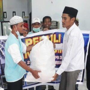 Alumni SMPN 3 Kota Bima Salurkan Bantuan Banjir Bandang