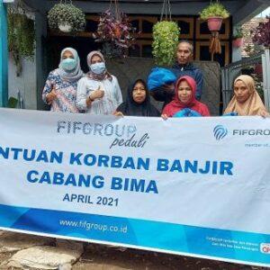 FIF Group Peduli Banjir Kabupaten Bima