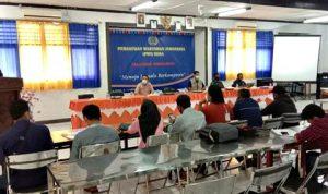 Menuju Wartawan Berkompeten, PWI Bima Gelar Pelatihan Jurnalistik