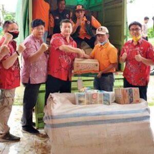 5 Kecamatan Terdampak Banjir, PSMTI Salurkan Bantuan Melalui BPBD
