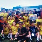 Galaxy FC Bawa Pulang Trofi Juara Sepakbola U-17 Bima Cup I