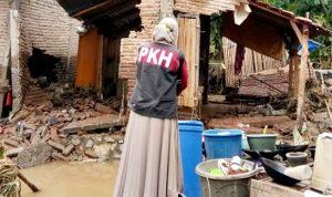Banjir Bandang Menerjang Bima, SDM PKH Bergerak Konsolidasi Bantuan Siap Saji