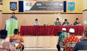 Baznas Sosialisasi ZIS dan Pembinaan UPZ Masjid