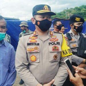 Ini Klarifikasi Kapolres Soal Izin dari Polisi untuk Pasar Lebaran