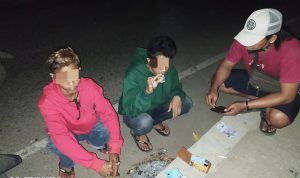 Diduga Kantongi Sabu-Sabu, 2 Pemuda Ditangkap Polsek Rastim
