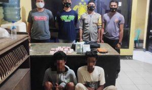 Pencurian dengan Pemberatan, 2 Pemuda Ini Dibekuk Polsek Wera