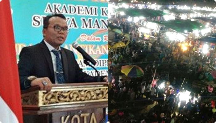 Pasar Lebaran Dikhawatirkan Jadi Klaster Baru Covid-19, Jubair: Pemerintah dan Polisi Harus Tindak Tegas