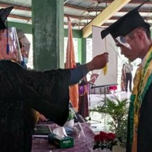 Rapat Senat Terbuka, 141 Mahasiswa STISIP Mbojo Bima Diwisuda