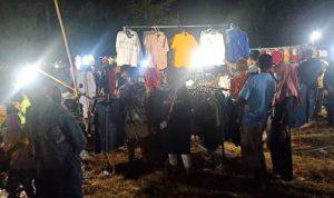 Pedagang Pasar Lebaran Pindah di Lapangan Serasuba, Jualan Hanya 2 Hari