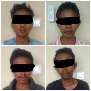 4 Remaja Digelandang ke Polsek Karena Diduga Maling HP