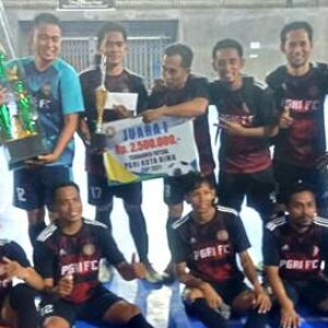 Final Futsal, PGRI Kota Bima Taklukan Setda Kabupatem Bima 4-2