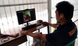 Kunjungan Ditiadakan, Rutan Bima Sediakan Layanan Video Call untuk Warga Binaan