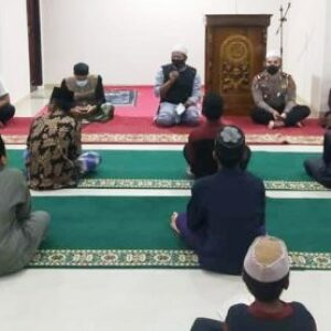 Sat Lantas Polres Bima Kota Gelar Doa Bersama