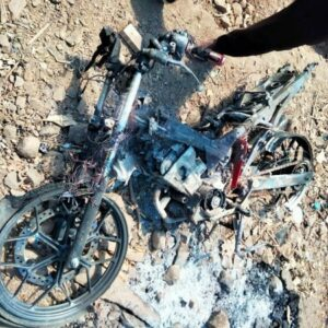 Kesal Marak Kasus Pencurian, Warga Bakar Motor Pencuri Kambing