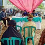 Suasana reses yang digelar Taufik HA Karim dan Ipa Suka di Kelurahan Sarae