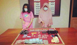 Diduga Pengedar Sabu-Sabu, 2 Wanita Ini Dibekuk Sat Narkoba