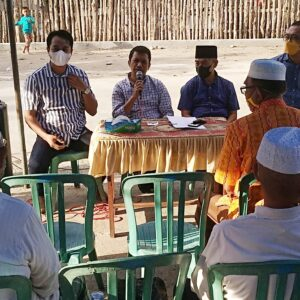 Edy, Erwin dan Amin Akhiri Reses di Penaraga dan Rabangodu Selatan