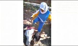 Video Siswi SMPN 11 Kota Bima Aniaya Perempuan Viral di Medsos