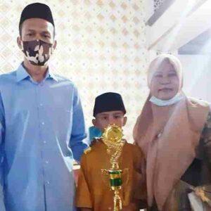 Siswa SDN 46 Jatibaru Barat Juara I Lomba Adzan