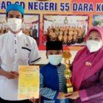 Siswa SDN 55 Kota Bima Runner Up Lomba Adzan dan Pencak Silat