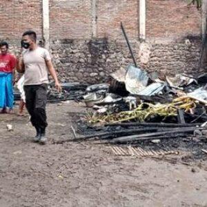 7 Rumah di Desa Cenggu Ludes Terbakar