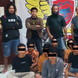 Tim Puma Amankan Para Terduga Pelaku Pemanah M Wahyu