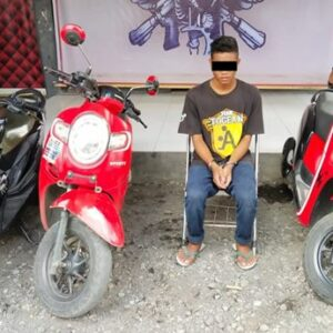 Baru Bebas dari Penjara, DPO Curanmor Ditangkap Lagi Depan Rutan Bima