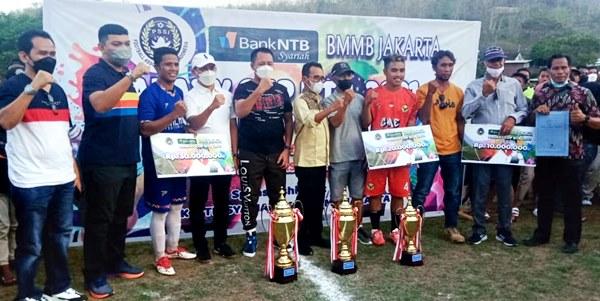 Kalahkan Garuda Elektrik Dompu, Gol Tunggal Hendra Antar Galaxy FC Juara
