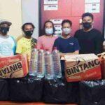 Polisi Hentikan Hiburan Malam di Nungga, Bir dan Arak Disita