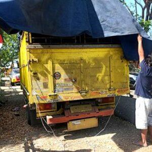 Traktor Bantuan Hendak Dijual Diamankan Polsek Soromandi