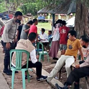 Puskesmas Belo Gelar Vaksinasi Covid-19 di Desa Cenggu