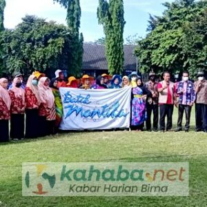 Ciptakan Karya Baru, SMKN 3 Kota Bima Launcing Batik Mantika