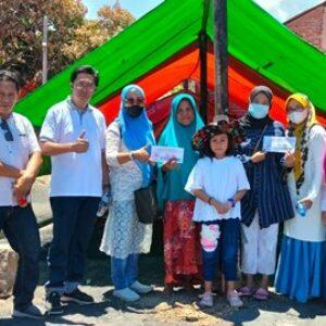 Alumni SMAN 1 Bima 92 Hadir di Naru Barat, Bantu Korban Kebakaran