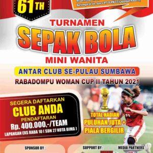 KT Samakai Radom Timur Gelar Turnamen Sepakbola Mini Wanita, Ayo Mendaftar
