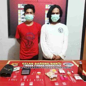 Polisi Ungkap Peredaran Narkotika di Kampung Tangguh Anti Narkoba